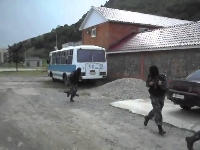 Рассейский спецназ в действии