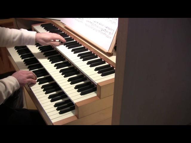 Bach - Aria sulla quarta corda (air on g string , organ)