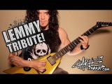 Charlie Parra - A Lemmy  Motorhead tribute guitar solo - MEAN MACHINE