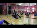 Exotic Pole Dance Tutorial - Warm Up Exercises (Part 5)
