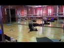 Exotic Pole Dance Tutorial - Warm Up Exercises (Part 6)