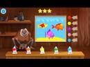 Лунтик Учим Английский язык - Цвета Развивающий Мультик Игра для детей Like BebyTV