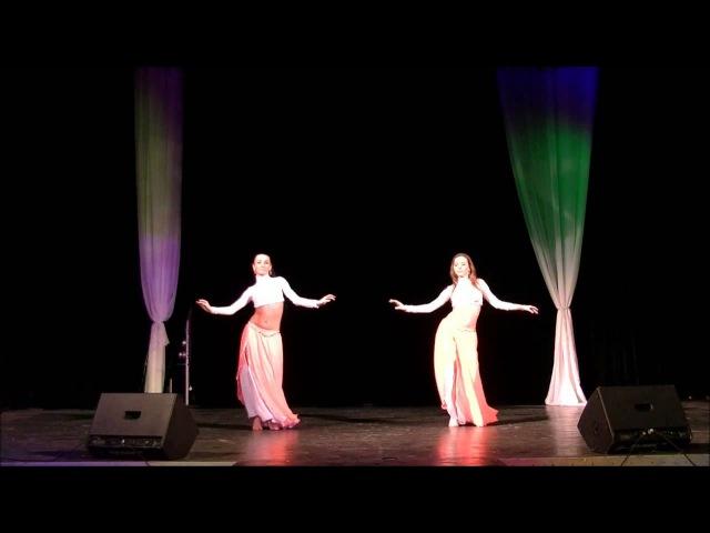 SAXARA Отчётный концерт 2013 Восточный танец вдвоём