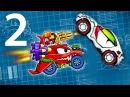 Мультик ИГРА для детей про МАШИНКИ - МАШИНА ест МАШИНУ 5 2 KidMasterGames