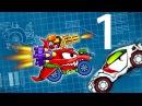 Мультик ИГРА для детей про МАШИНКИ - МАШИНА ест МАШИНУ 5 1 KidMasterGames