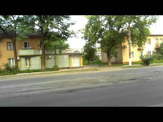 Gagarina street, Haharina street, vulytsya Haharina, Gorlovka, Horlivka, Horlovka, Ukraine, 2013