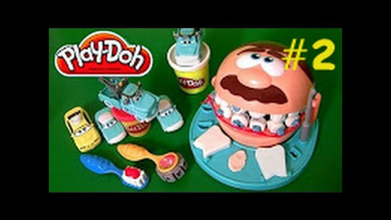 Oyun Hamuru ile Diş Doktoru Oyunu 2 - Play Doh Doctor Drill N Fill