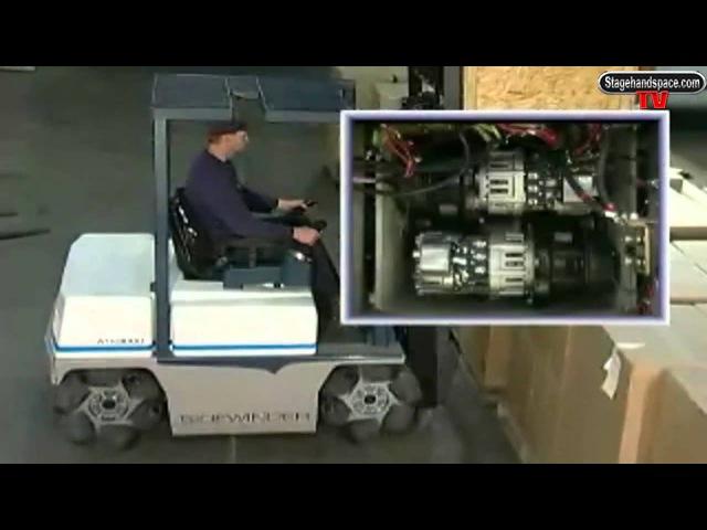 Stagehand TV-Airtrax Sidewinder Forklift