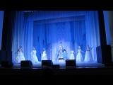 Наше выступление в Новогоднем представлении 2.02.15г. Мы-свита Снежной королевы