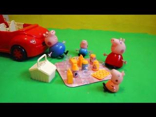 Свинка Пеппа. Обзор набора Свинка Пеппа едет на Пикник