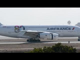 Air France 80th Airbus A380-800 F-HPJI