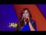 Шрея Гошал исполняет песни из индийских фильмов на 5th Mirchi Music Awards