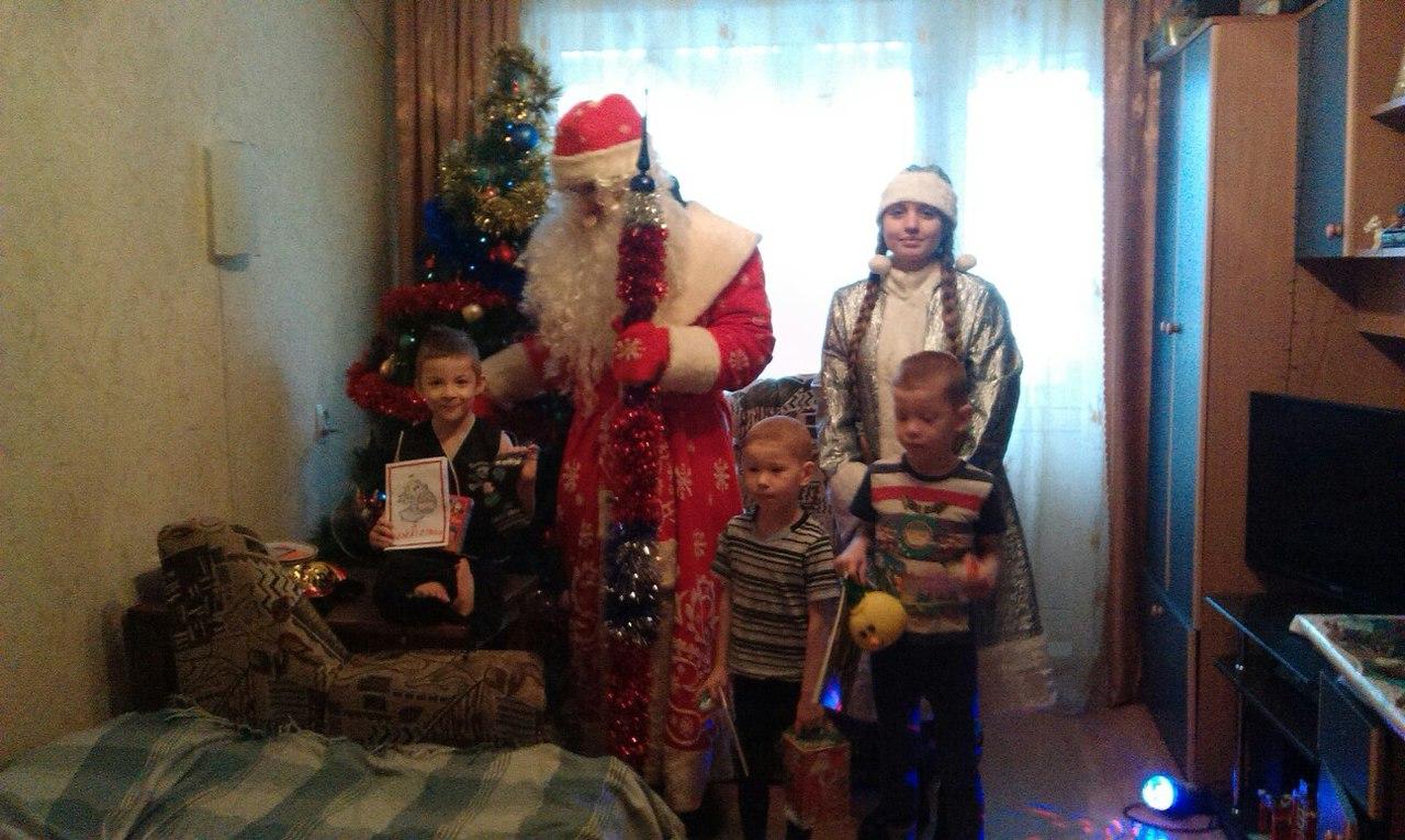 ПОКРОВ  празднует Рождество