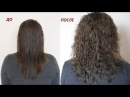 Завивка волос пошагово До и После Irinka Pirinka