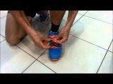 Как правильно завязывать шнурки на беговых кроссовках