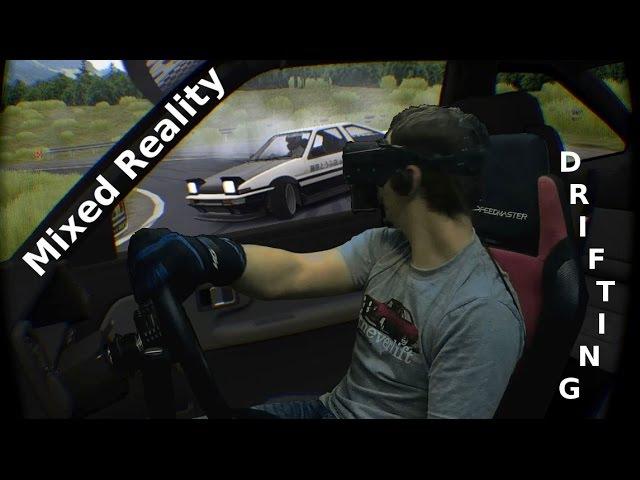 🚕💨 Drifting in Mixed Reality - Assetto Corsa - Oculus Rift CV1