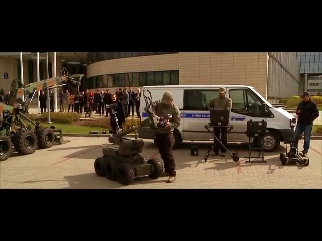 Unmanned Ground Vehicle UGV Demonstration