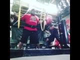 """I Love Powerlifting on Instagram: """"Ellis Jr. Perry приседает в наколенниках 340 кг на 3 повторения. Собственный вес атлета не превышает 120 кг."""""""