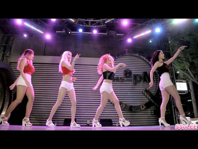 160423 댄스팀 레드캣 (Red Cat) - I'm So Sexy (댄싱게놈) @ 헬로apM 직캠 By SSoLEE