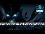 BEST PLAYS of Group Stage - ESL One Frankfurt 2016 Dota 2