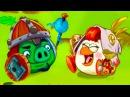 Мультик ИГРА для детей - Энгри Бердс - ЗЛЫЕ ПТИЧКИ ЭПИК 5 КРУТИЛКИНЫ
