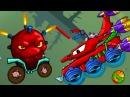 Мультик ИГРА МАШИНА ест МАШИНУ 5 ХИЩНЫЕ МАШИНЫ - 3 серия – ИГРА для детей про машинки КРУТИЛКИНЫ