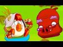 Мультик ИГРА для детей - Энгри Бердс - ЗЛЫЕ ПТИЧКИ ЭПИК 6 КРУТИЛКИНЫ