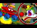 Мультик ИГРА МАШИНА ест МАШИНУ 5 ХИЩНЫЕ МАШИНЫ - 4 серия – ИГРА для детей про машинки КРУТИЛКИНЫ