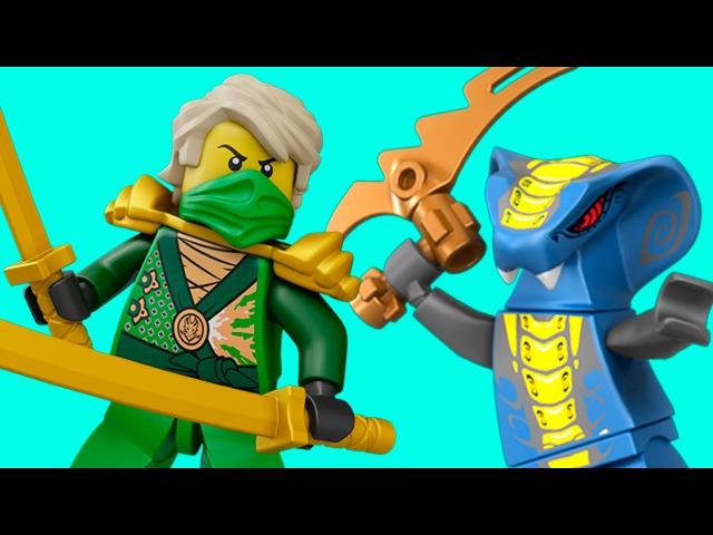 Игра Лего Ниндзяго ТУРНАМЕНТ - Lego Ninjago Tournament - ИГРА про МУЛЬТИК для детей 1 КРУТИЛКИНЫ