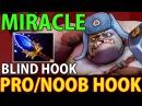 Miracle Pudge- Dota 2 Pro/Noob Hook Blind Hook