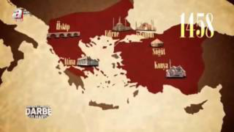 Osmanlı İmparatorluğu/Ottoman Empire Map