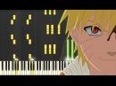 Naruto - Alone [Piano Tutorial] (Synthesia) // Kyle Landry + SHEETS/MIDI
