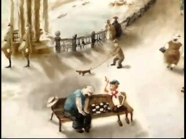 Мультфильм 'Еще раз' студия Александра Петрова выпускная работа учениц 2010