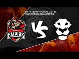 Team Empire vs Ad Finem @ TI6 EU Quali