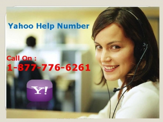 Instant call on 1-877-776-6261 Yahoo Help Number