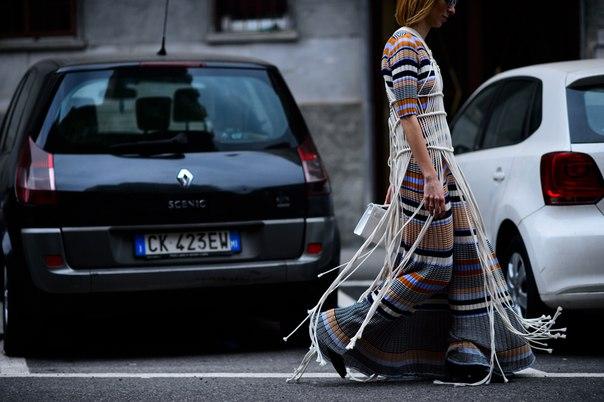 Milan Fashion Week Fall 2016 Street Style