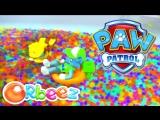 Anna Kids - Щенячий патруль в ванной с шариками Орбиз Плавающие щенки спасатели Paw Patrol Pool Part