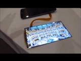 Сделано Человеком. Самый тонкий гибкий экран в мире