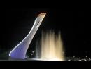 Поющие фонтаны в Олимпийском Парке , г . Сочи