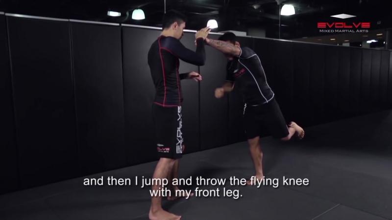UFC Champion Rafael Dos Anjos CRAZY KO combination!  _ С.А.М _ STRONG DIVISION _ [720p]