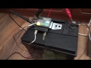 зарядное устройство автоматическим на автомобильном реле регуляторе.