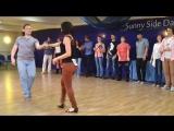 Sunny Side Dance Camp novice final jam 2016