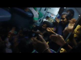 Funny malayalam songs Delhi - GOA train