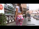 Pantyhose, Silky Fetish ∞ Young babe teen ass leggings sexy spandex молодая красивая девушка в леггинсах попка в лосинах ножки