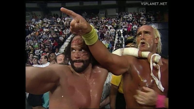 Alliance to End Hulkamania is formed @ WCW Monday Nitro 18.03.1996