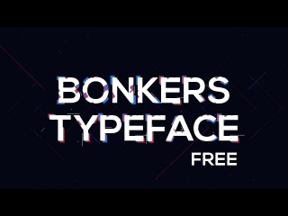 Bonkers 2D Animated Typeface | After Effects Template by Dope Motions™
