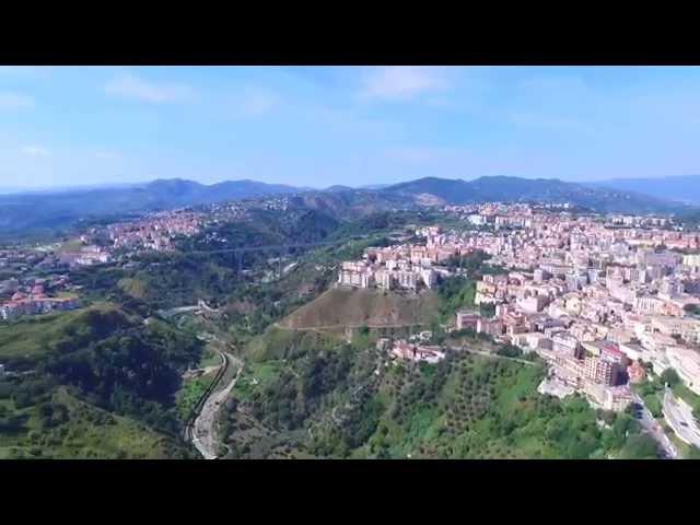 Catanzaro Ponte Viadotto Morandi Bisantis tangenziale ovest Drone Phantom3 Pro Dji