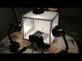 Лайт куб для фото съёмки своими руками