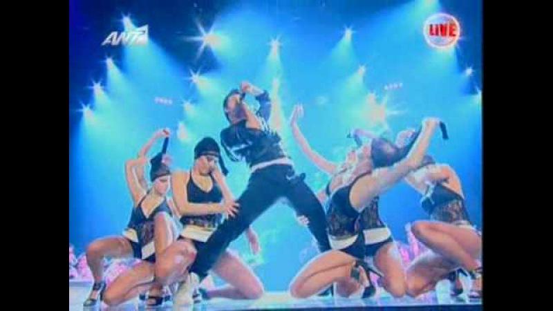 Sakis Rouvas Live @ the X Factor Final 2009-2010