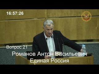 Дебаты в ГосДуме по законопроекту №874565-6 «О Конституционном Собрании Российской Федерации» (01-12-2015)